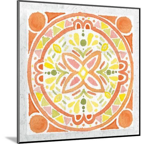 Citrus Tile I v2-Elyse DeNeige-Mounted Art Print