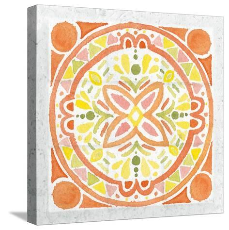 Citrus Tile I v2-Elyse DeNeige-Stretched Canvas Print
