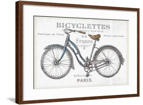 Bicycles II-Daphne Brissonnet-Framed Art Print