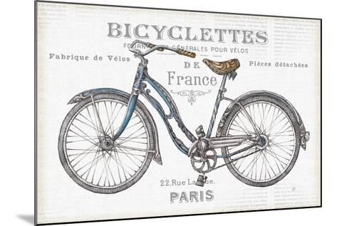 Bicycles II-Daphne Brissonnet-Mounted Art Print