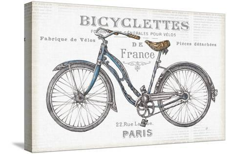 Bicycles II-Daphne Brissonnet-Stretched Canvas Print