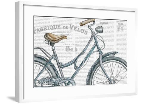 Bicycles III-Daphne Brissonnet-Framed Art Print