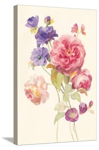 Watercolor Flowers II-Danhui Nai-Stretched Canvas Print