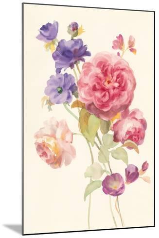 Watercolor Flowers II-Danhui Nai-Mounted Art Print