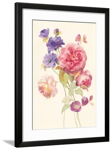 Watercolor Flowers II-Danhui Nai-Framed Art Print