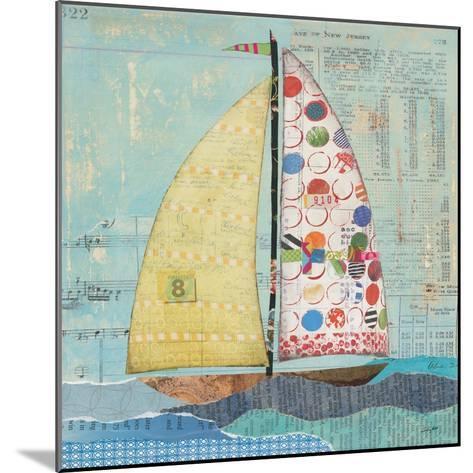 At the Regatta I Sail Sq-Courtney Prahl-Mounted Art Print