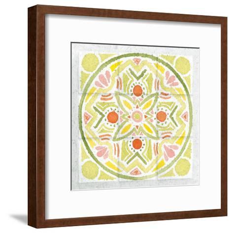 Citrus Tile III-Elyse DeNeige-Framed Art Print