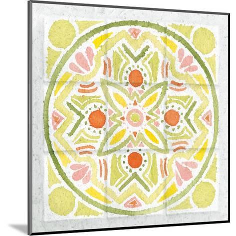 Citrus Tile III-Elyse DeNeige-Mounted Art Print