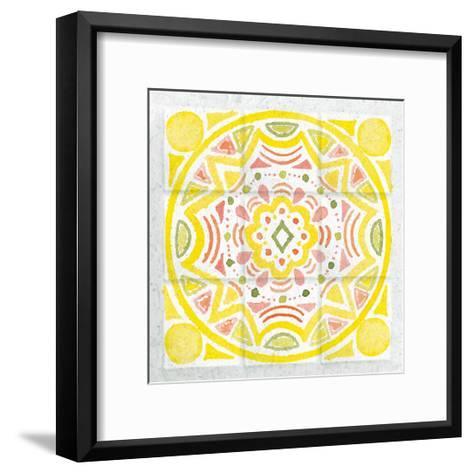 Citrus Tile II-Elyse DeNeige-Framed Art Print