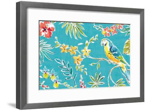 Tropical Oasis II-Daphne Brissonnet-Framed Art Print