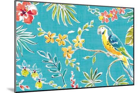 Tropical Oasis II-Daphne Brissonnet-Mounted Art Print