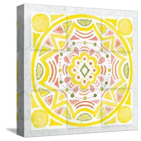 Citrus Tile II-Elyse DeNeige-Stretched Canvas Print