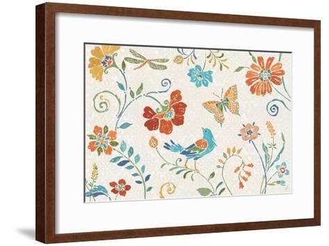 Spanish Impressions II-Daphne Brissonnet-Framed Art Print