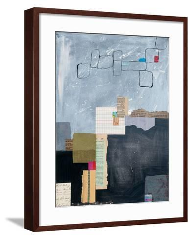 Block Abstract I-Courtney Prahl-Framed Art Print