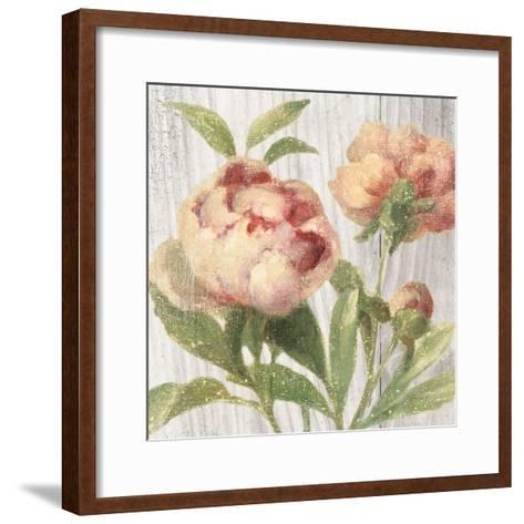 Scented Cottage Florals I Crop-Danhui Nai-Framed Art Print