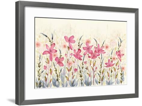 Watercolor Garden-Elyse DeNeige-Framed Art Print