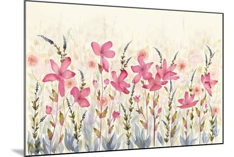 Watercolor Garden-Elyse DeNeige-Mounted Art Print