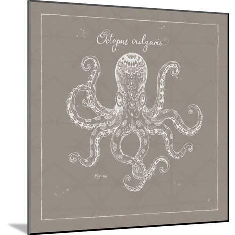 Underwater Life XI Greige-Daphne Brissonnet-Mounted Art Print