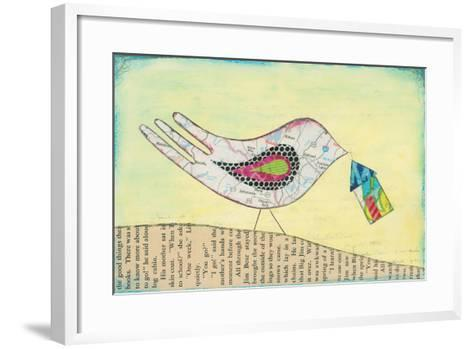 Mapping the Way Home I-Courtney Prahl-Framed Art Print