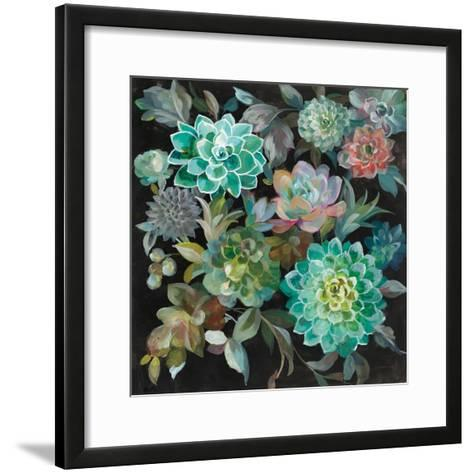 Floral Succulents-Danhui Nai-Framed Art Print