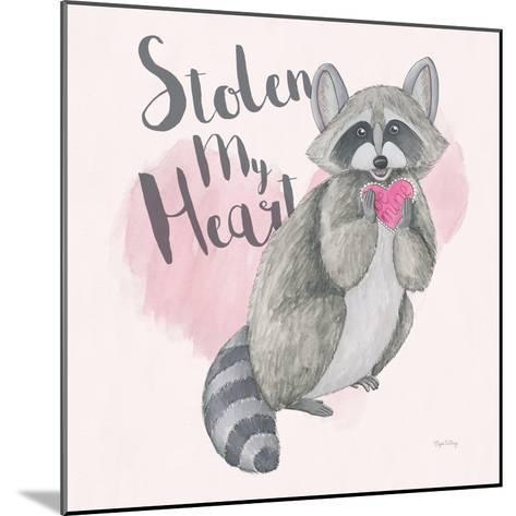 My Furry Valentine I Sq-Elyse DeNeige-Mounted Art Print