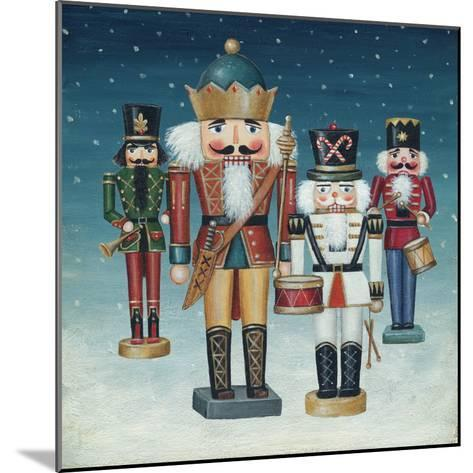 King Nutcrackers Snow-David Cater Brown-Mounted Art Print