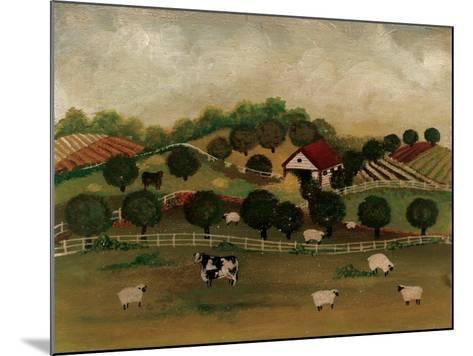 A Day at the Farm II-David Cater Brown-Mounted Art Print