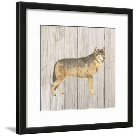 Natural Majesty IV v2  on Wood-Emily Adams-Framed Art Print