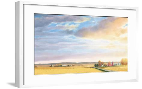 Heartland Landscape Sky-James Wiens-Framed Art Print