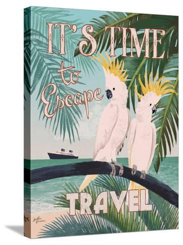Welcome to Paradise IV-Janelle Penner-Stretched Canvas Print