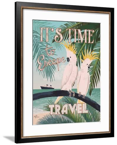 Welcome to Paradise IV-Janelle Penner-Framed Art Print