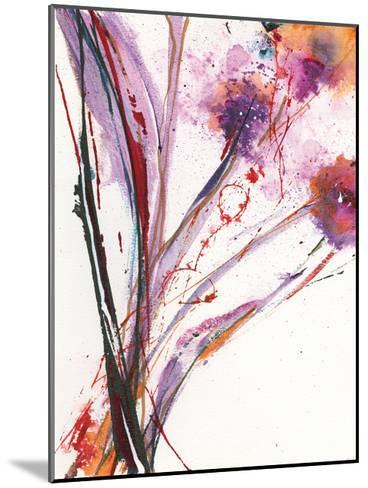 Floral Explosion III-Jan Griggs-Mounted Art Print