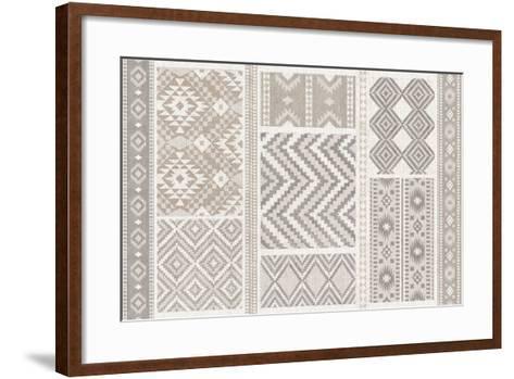 Soft Lodge XI-Janelle Penner-Framed Art Print