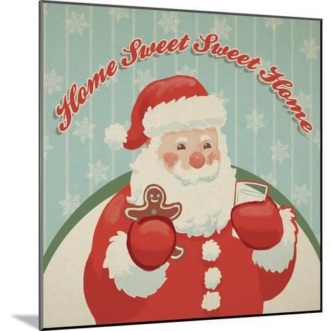 Retro Christmas X-Janelle Penner-Mounted Art Print