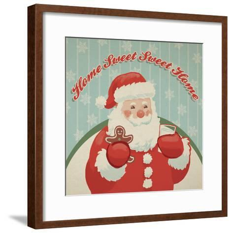 Retro Christmas X-Janelle Penner-Framed Art Print