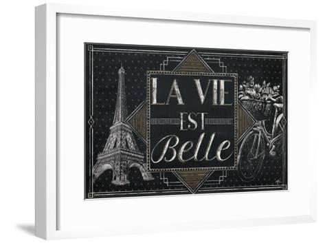 Vive Paris II-Janelle Penner-Framed Art Print