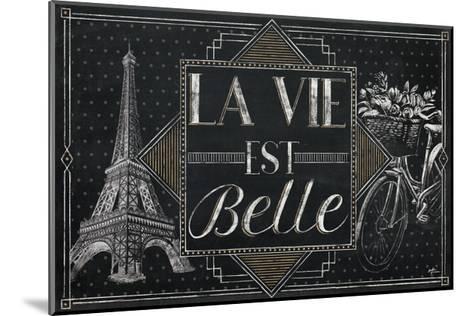 Vive Paris II-Janelle Penner-Mounted Art Print