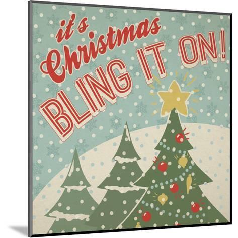 Retro Christmas IX-Janelle Penner-Mounted Art Print