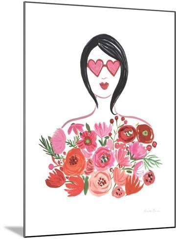 Valentine Chic I no Words-Farida Zaman-Mounted Art Print