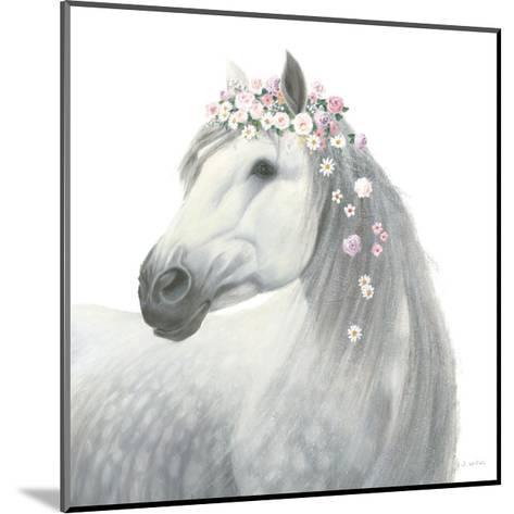 Spirit Stallion II Square-James Wiens-Mounted Art Print