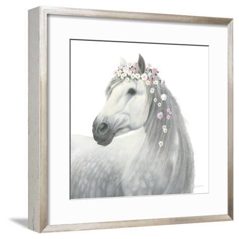 Spirit Stallion II Square-James Wiens-Framed Art Print