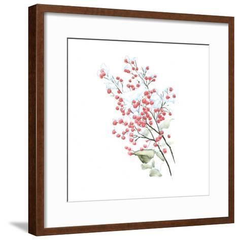 Into the Woods Holly-Emily Adams-Framed Art Print