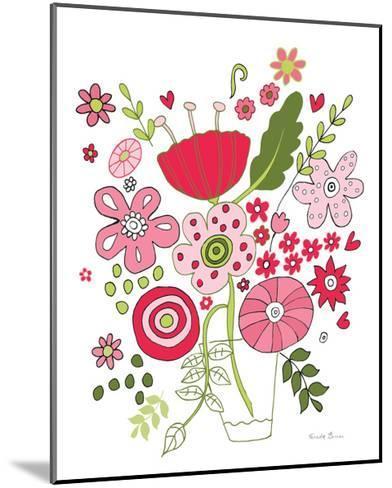 Valentines Flowers IV-Farida Zaman-Mounted Art Print