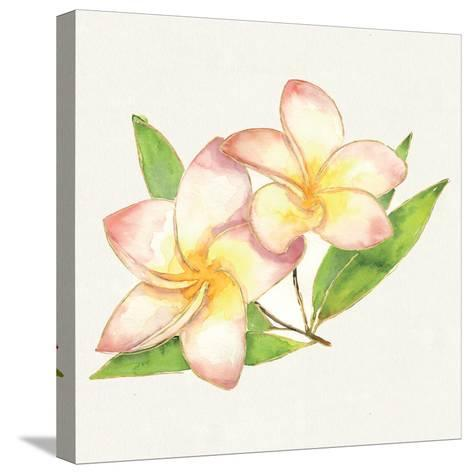 Tropical Fun Flowers I-Harriet Sussman-Stretched Canvas Print