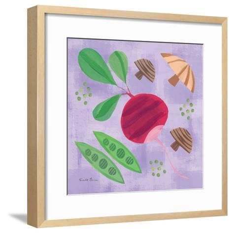 Veggie Time III-Farida Zaman-Framed Art Print
