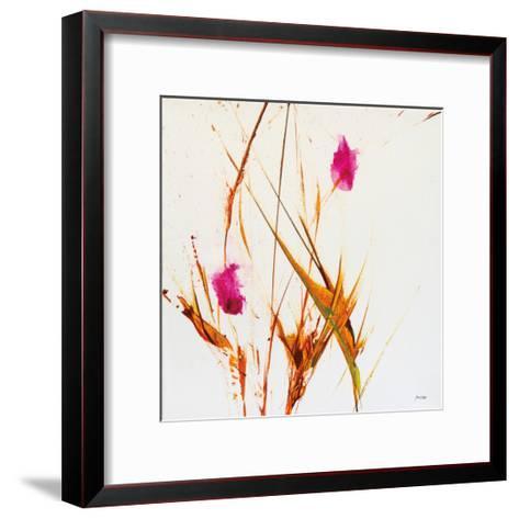 Pink Buds II-Jan Griggs-Framed Art Print