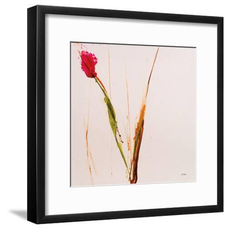 Pink Buds I-Jan Griggs-Framed Art Print