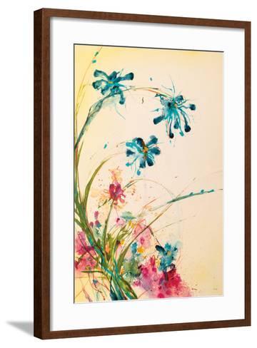 Blooming Blue-Jan Griggs-Framed Art Print