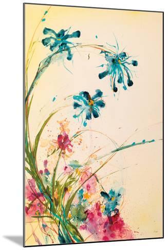 Blooming Blue-Jan Griggs-Mounted Art Print