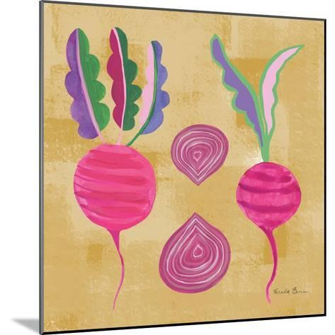 Veggie Time IV-Farida Zaman-Mounted Art Print